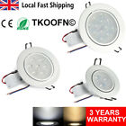 3/7/12W LED Lights Ceiling Lamp Downlights Recessed Spot Tilt Light With Driver