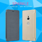 Genuine Nillkin Sparkle PU Leather Flip Case Cover For Sony Xperia XZ2 / Compact