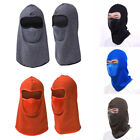 1Pc Motorcycle Thermal Fleece Balaclava Neck Full Dustproof Face Mask Cap Cover