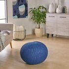 Belle Knitted Cotton Pouf