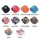 Dog Baseball Cap Summer Canvas Puppy Small Pet Dog Cat Visor Hat Outdoor Cloth