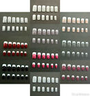 24 pieces of Designer Whole nails (French Style) - Full Nails