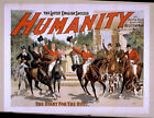 Photo Print Vintage Poster: Stage Drama Flyer Theatre Show Humanity