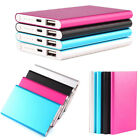 5000mah Aluminum External USB Power Bank Battery Charger Box For Mobile Phone
