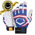 EvoShield YOUTH G2S 950 GEL TO SHELL Batting Gloves ROYAL-WHITE-RED