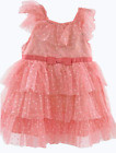 Jona Michelle Girls' Special Occasion Dresses with Diaper Cover Various Colors