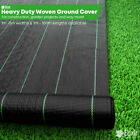 Elixir Gardens Heavy Duty Weed Control Fabric Ground Cover Membrane