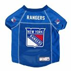 NEW NEW  YORK RANGERS DOG PET PREMIUM JERSEY w/NAME TAG LE $16.14 USD on eBay