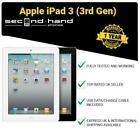 Apple iPad 3 (3rd Gen) 16/32/64GB wi-fi or 3G Cellular Unlocked 9.7&quot; Black/White <br/> FREE EXPRESS UK Delivery - Fast Shipping -12M Warranty