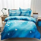 MZPRIDE 3d Mysterious Boundless Galaxy Colorful Outer Space Bedding Sets
