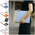 "2in1 Woolen Felt Laptop Sleeve Bag Mouse Pad for MacBook 12"" AIR PRO 11"" 13"" 15"""