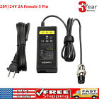 Fast Battery Charger for Razor E Series Electric Scooters 24V 2A AC Adapter