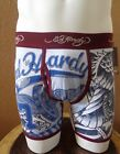 $29.00 Ed Hardy Men's Boxer Briefs Cotton Bald Eagle Tattoo Print Collection New