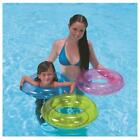 Inflatable Swim Ring Tube Pool Rubber Float Lounger Beach Swimming Toy Lilo