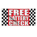 free battery check - Free Battery Check #1 Advertising Printing Vinyl Banner Sign With