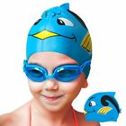 Protective Elastic Silicone Cartoon Swimming Caps Swim Hat for Kids Children <br/> Zodaca&reg; OFFICIAL&radic;US STOCK&radic;FAST SHIPPING&radic;BEST SELLER&radic;