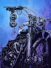 Hard Conflict, Glorious the Triumph by David Lozeau Motorcycle Canvas Art Print $99.0 USD on eBay
