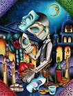 Masquerade by Dave Sanchez Dead Mexican Skeleton Giclee Canvas Art Print
