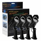 2/4PCS Fake Dummy Home Security Camera with LED Solar Powered & Waterproof & BOX