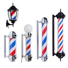 "20"" 28"" 32"" 36"" 41"" LED Salon Barber Pole Spinning Light Strip Red White Blue"