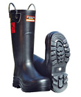 FIREFIGHTER 4000 SUPER SAFETY IBLACK RUBBER FIRE WELLINGTONS WELLIES