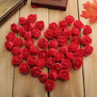 50Head Artificial Fake Rose Silk Flower Wedding Party Bridal Bouquet Home Decor