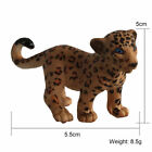 Simulation Wild/Zoo Animals Model Kids Educational Toy Collectibles Home Decor