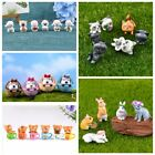 Cute Micro Ornament Fairy Garden Home DIY Decorations Mini Animals Crafts