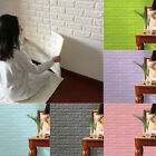 Simple 3D Foam Stone Brick Self-adhesive Wallpaper Home Wall Sticker Panels Pad