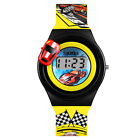 Fashion Cartoon Children Kids Watches Rubber Boys Girls Student Car Wristwatches