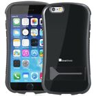 For iPhone 6 6s Dual Layer Rugged Hybrid Kick Stand Grip Shockproof Case Skin
