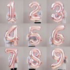 "32''/40"" Number Shape Helium Foil Ballons Wedding Party Balloons Birthday Decors"