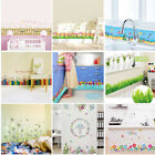 Fashion Children Kids Room Bathroom Removable Decor Colorful Wall Stickers Decal