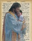 Jesus Fatherly Comfort Collage Cotton Quilt Block Free Shipping World Wide (J2