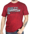 Harley-Davidson Mens Ride with Honor B&S Black Washed Red Short Sleeve T-Shirt $9.99 USD on eBay