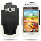 Dual Layer Hybrid Cover Case W/ Stand For Samsung Galaxy Ring M840 Prevail