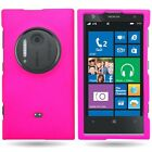 Hard Case For Nokia Lumia 1020 - Colorful Slim Fit Rubberized Grip Phone Cover