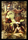 Dream of Xmas by Chris Kape Santa Claus Christmas Tattoo Photo Canvas Art Print