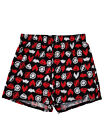 Justice League Movie DC Comics Mens Black Knit Boxers Boxer Shorts Small