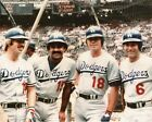 The Los Angeles Dodgers 1970s Infield Baseball Poster Art Photo 11x14 or 16x20 on Ebay
