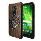 "For Motorola Moto G6 Play 5.7"" Black TPU SILICONE Soft Protective Case Cover"