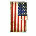 Leather Flip Wallet Stand Cover Case For Sony Xperia Z5 Mini Samsung S6 S5 G360