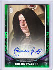 Doctor Who Signature Series 2018 Trading Cards Green Autograph Selection (/50)