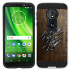 "For Motorola Moto G6 Play 5.7"" Shockproof Brushed Hybrid Cover Phone Case"