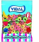 Vidal Fizzy Fruit Flavoured Apollo Rings Sweets Favours Treats Party Candy Kids