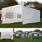 10'x20' Canopy Party Wedding Tent Outdoor Heavy Duty Pavilion Cater Event White