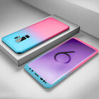 Hybrid 360&deg; Hard Case + Screen Protector Full Cover For Samsung Galaxy Models <br/> ✔️For A7 J6+ A8 A6 J6 S9/S8/S8+✔️Free Screen Protector!