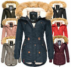 Navahoo Damen Winter Jacke winter Mantel winter parka warm Outdoor Jacke anorak