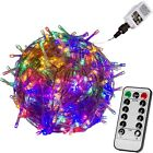 VOLTRONIC 50 100 200 400 600 LED Lichterkette Innen Außen Party Deko Weihnachten