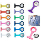 1pcs Rubber Nurse Watch Fob Medical Nurses Doctor Watch Brooch Clip Quartz